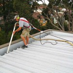 All our gutter cleaning tradesmen ensure safety is their first priority