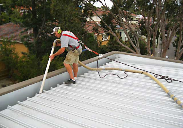 Ohs Safety Harness Usage While Gutter Cleaning Gutterreleaf